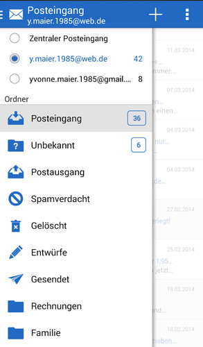 GMX Mail screenshot 3