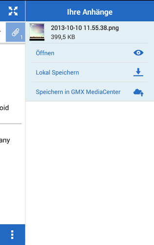 GMX Mail screenshot 5