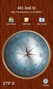 Free Compass cell phone app