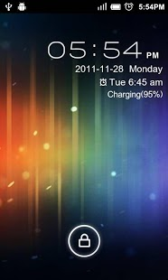 Free GO Locker ICS Theme cell phone app