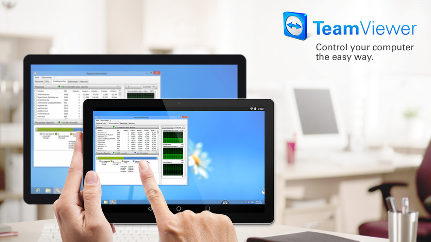 Free TeamViewer for Remote Control cell phone app