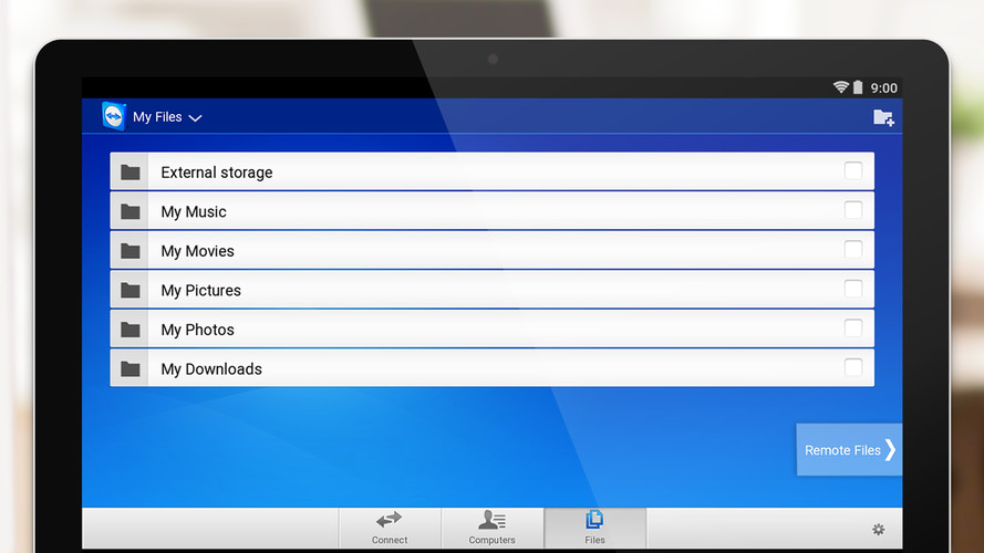 TeamViewer for Remote Control screenshot 4