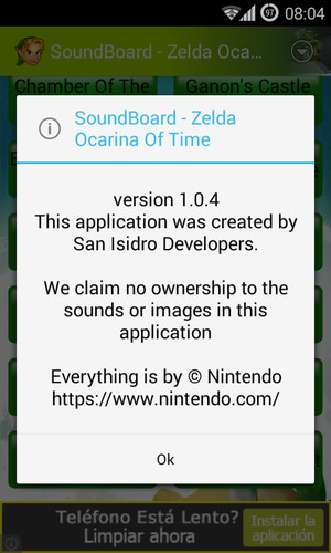 Free Soundboard - Zelda OOT cell phone app