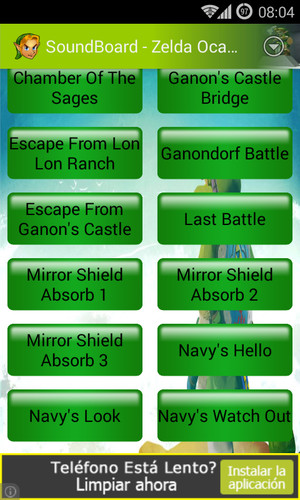Soundboard - Zelda OOT screenshot 2