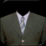 Man Suit Photo Montage