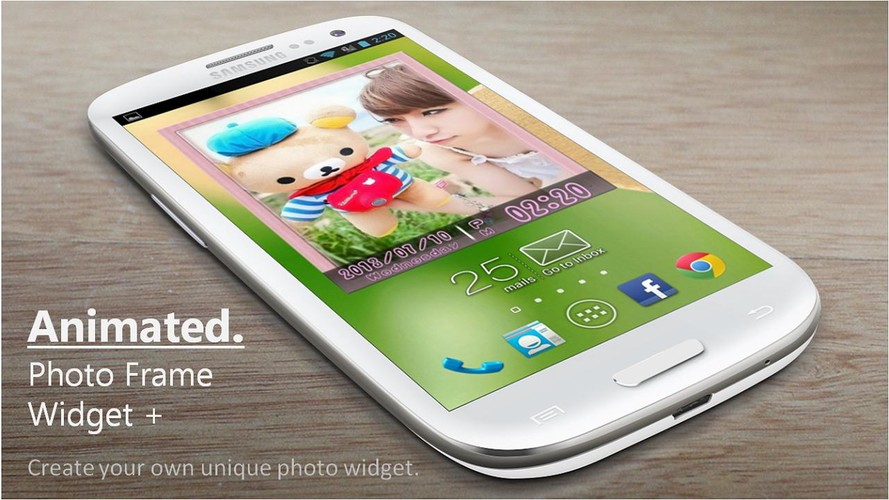 Free Animated Photo Frame Widget cell phone app
