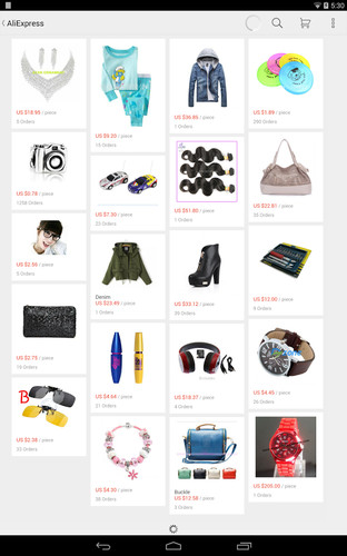 Free AliExpress Shopping App cell phone app