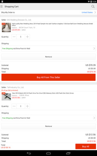 AliExpress Shopping App screenshot 3