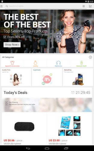 AliExpress Shopping App screenshot 4