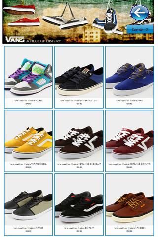 vans chaussures name origin