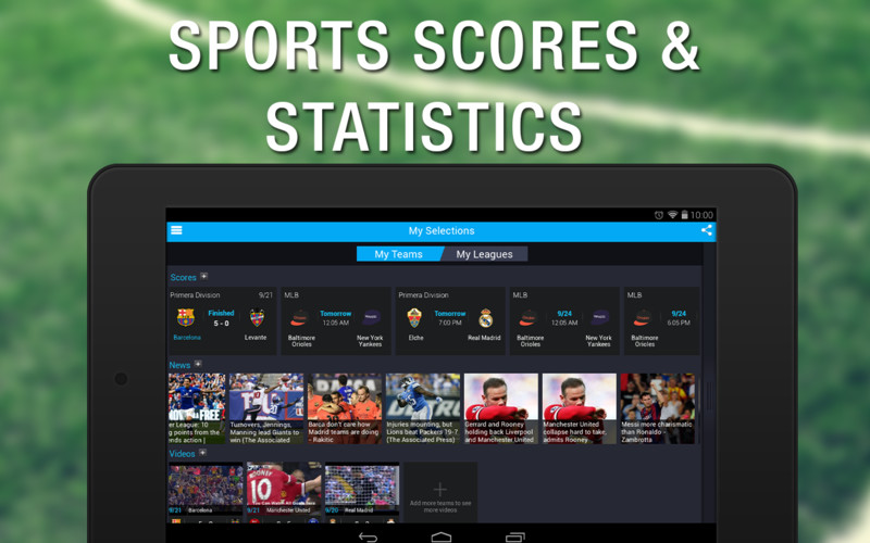 Live Sports Scores - 365Scores screenshot 1