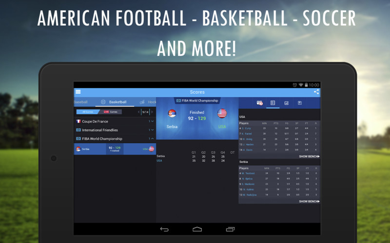 Live Sports Scores - 365Scores screenshot 7