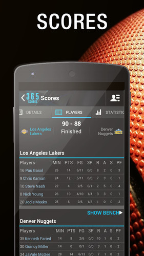 Live Sports Scores - 365Scores screenshot 13