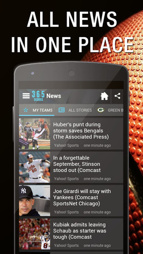 Live Sports Scores - 365Scores screenshot 14