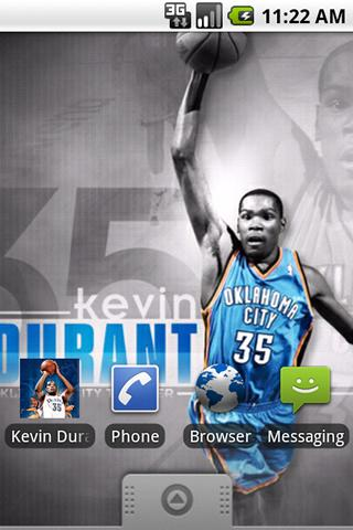 Free Kevin Durant Wallpapers cell phone app