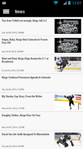 LA Kings screenshot 4