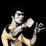Bruce Lee Inch Punch Training