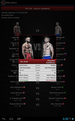 MMA Follower: All of MMA & UFC screenshot 5