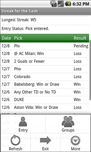Streak for the Cash screenshot 2