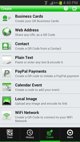 QR Droid Private™ screenshot 4