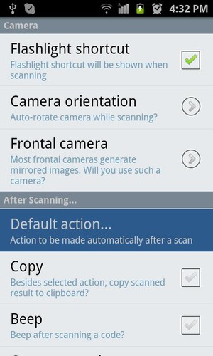 QR Droid Private™ screenshot 6