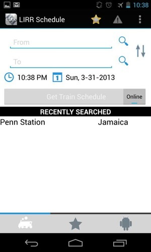 LIRR Train Schedule screenshot 2