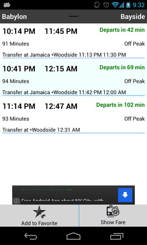 LIRR Train Schedule screenshot 3