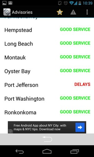 LIRR Train Schedule screenshot 4