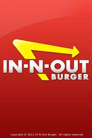 Free In-N-Out Burger cell phone app