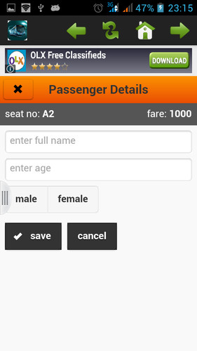 Bus Ticket Booking screenshot 5