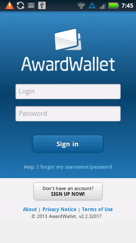AwardWallet screenshot 1