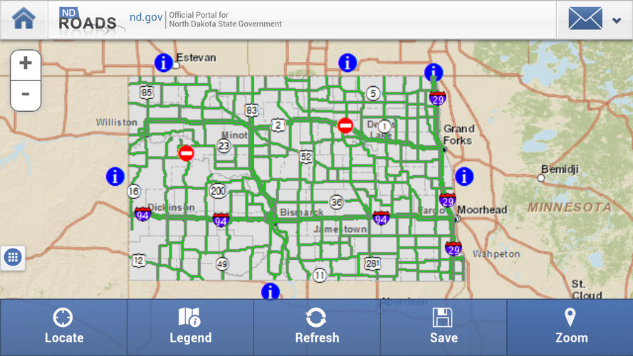 ND Roads (North Dakota Travel) screenshot 5