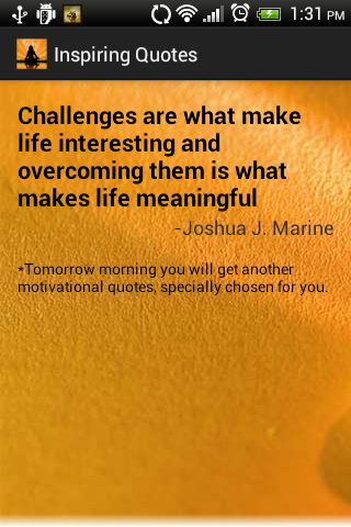 Daily Inspirational Quotes screenshot 4