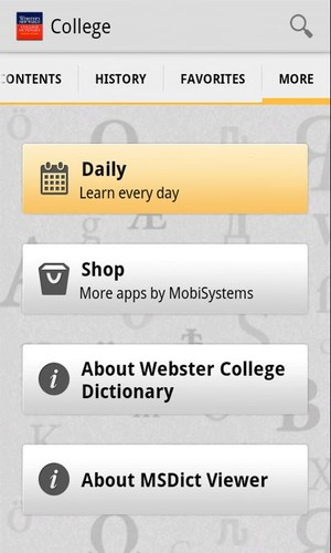 Webster's College DictionaryTR screenshot 3