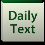 Daily Bible Text 2014