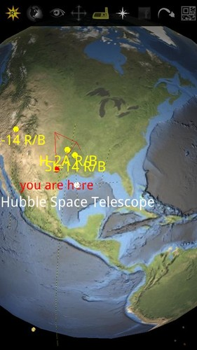 Free space junk lite cell phone app
