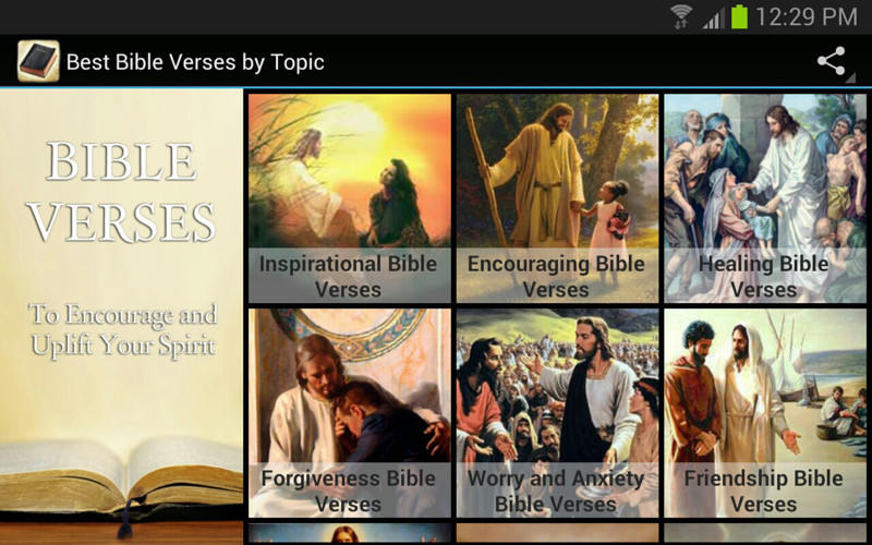 Best Bible Verses By Topic screenshot 5