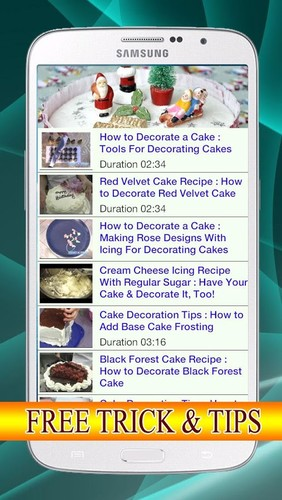 Free Decorate Cake How cell phone app