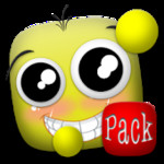 Emoticon pack, Little girl