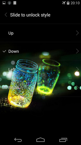 Fireflies lockscreen screenshot 4
