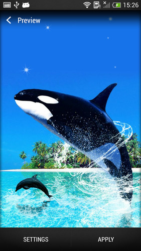 Dolphin Live Wallpaper screenshot 5