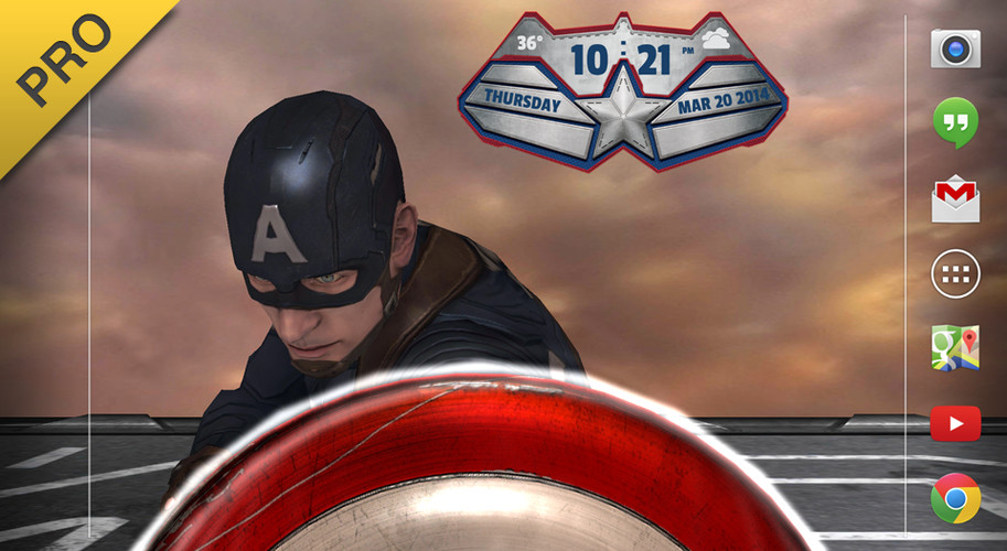Captain America: TWS Live WP screenshot 3
