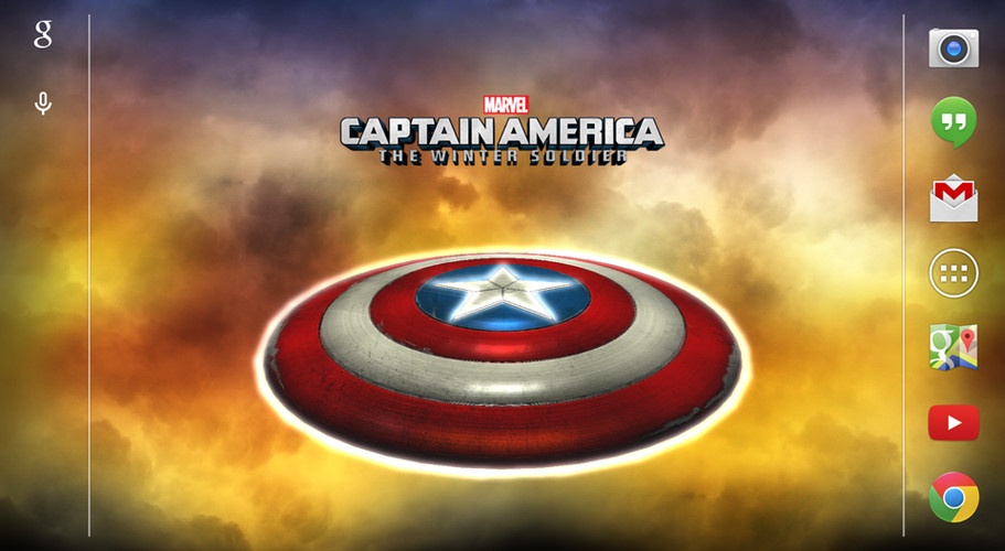 Captain America: TWS Live WP screenshot 5