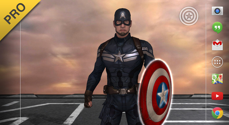Captain America: TWS Live WP screenshot 7