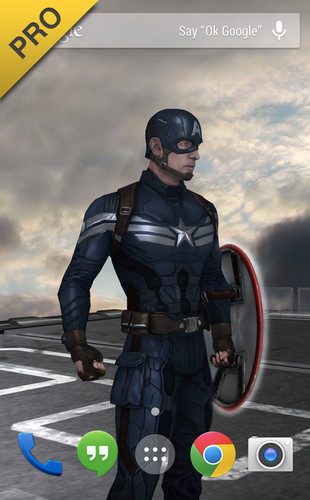 Captain America: TWS Live WP screenshot 10
