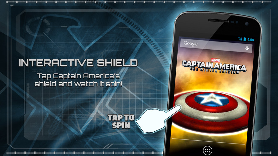 Captain America: TWS Live WP screenshot 12