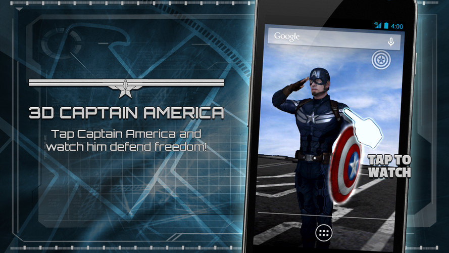 Captain America: TWS Live WP screenshot 14