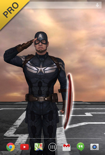 Captain America: TWS Live WP screenshot 18