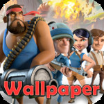 Boom Beach Live Wallpapers