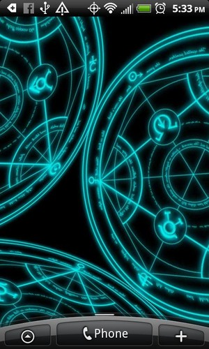 Free Transmutation Live Wallpaper cell phone app